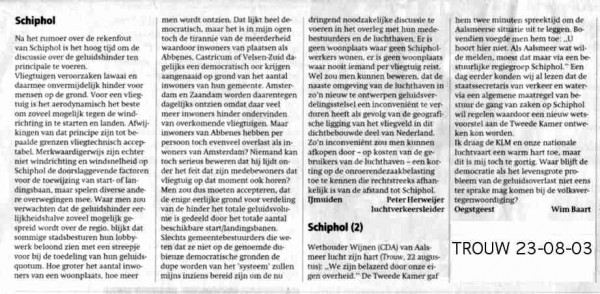 'Schiphol'