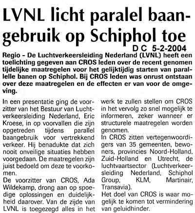 LVNL licht paralel baangebruik op Schiphol toe