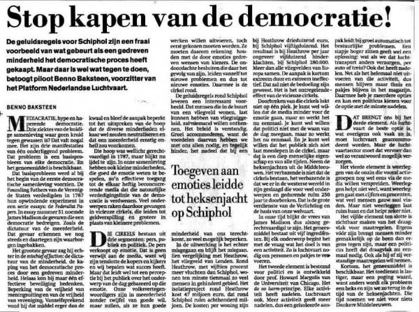 Stop Kapen van de Democratie!