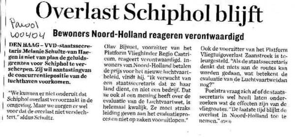 """""""Overlast Schiphol Blijft"""""""