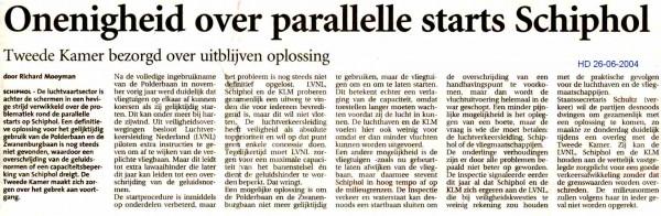 Onenigheid over parallelle starts Schiphol