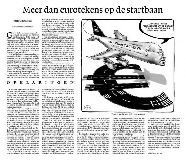 Meer dan eurotekens op de startbaan