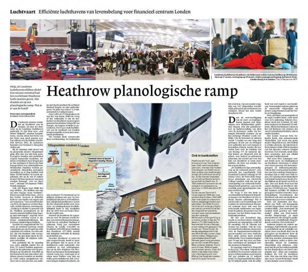 Heathrow planologische ramp