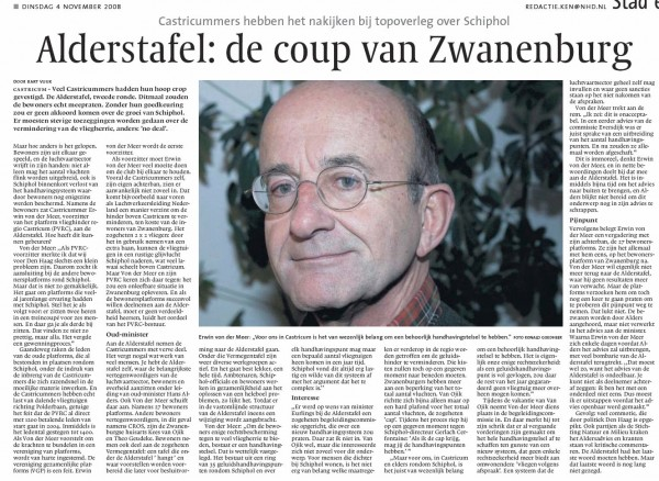 Alderstafel: De coup van Zwanenburg