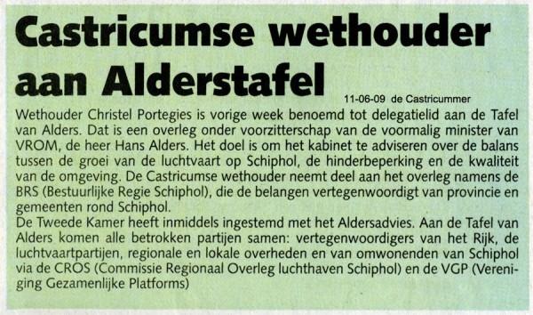 Castricumse wethouder aan de Alderstafel