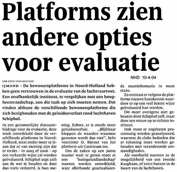 Platforms zien andere opties voor evaluatie