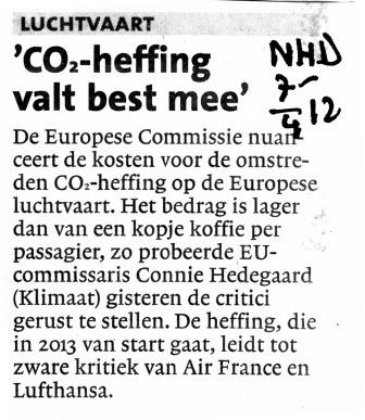CO2-heffing valt best mee