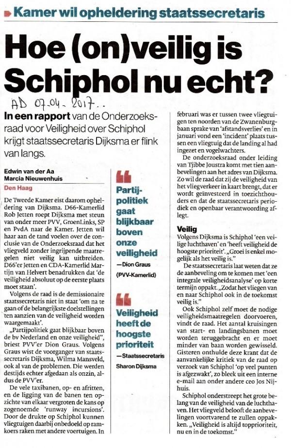 Hoe (on)veilig is Schiphol nu echt?