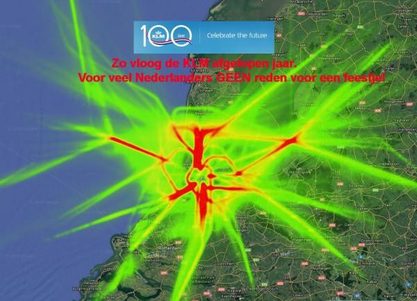 KLM 100 jaar. Voor veel Nederlanders geen reden voor een feestje.