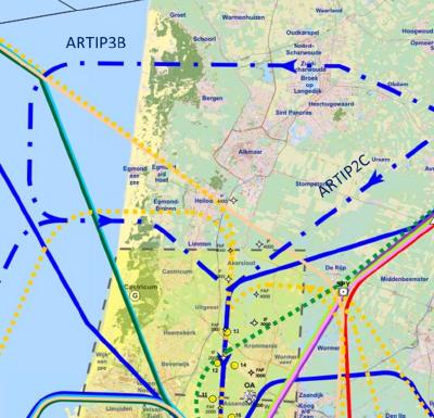 Nachtvluchten Schiphol niet over hele provincie
