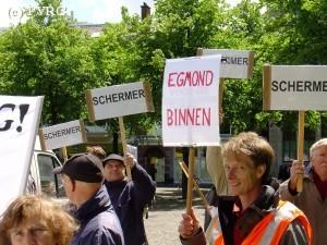 Ongeruste bewoners in de omgeving van Schiphol dreigen lokale rechtszekerheid en rechtsbescherming t