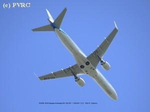 Testvlucht van Europese luchtreus