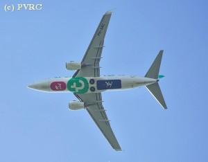 Doorstart vliegtuig toch geen bijna-botsing