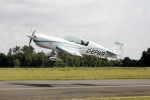 Nieuwe elektromotor van Siemens drijft vliegtuig aan