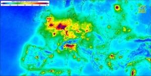 stikstofdepositie Europa